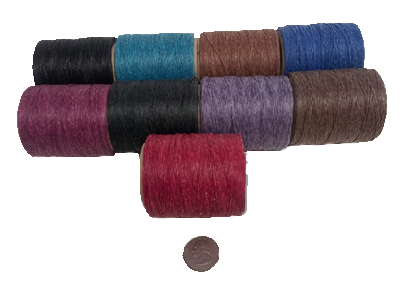 Waxed Polyester Thread image