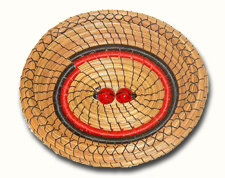 Oval Lady-bug Basket